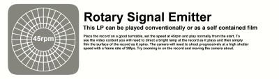 Rotary Sinal Emitter LP paper insert