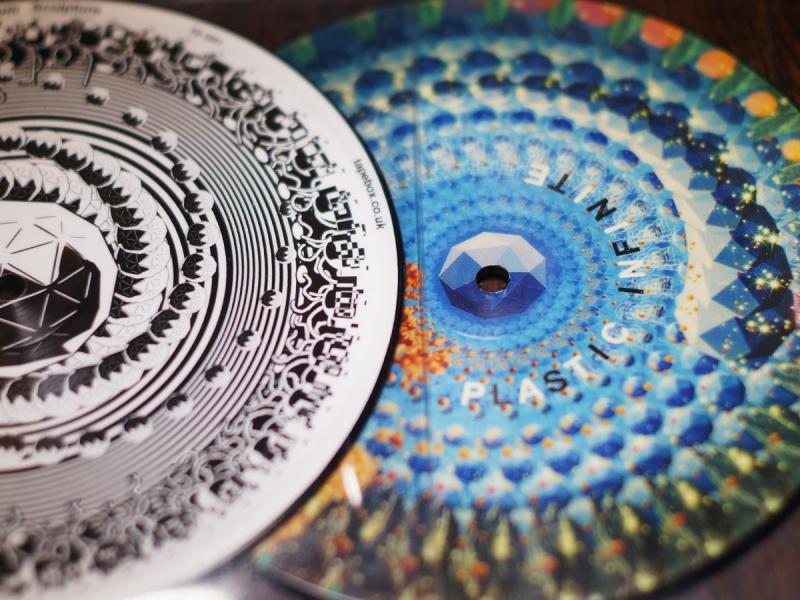 "Plastic Infinite Zoetrope 7"" Record"